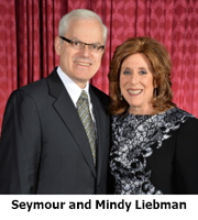 Seymour and Mindy Liebman